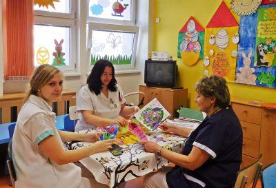 Malí pacienti z Nemocnice Nový Jičín o velikonoční atmosféru nepřijdou