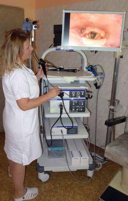 Nový přístroj na ORL oddělení Nemocnice Nový Jičín odhalí rakovinu v časném stádiu