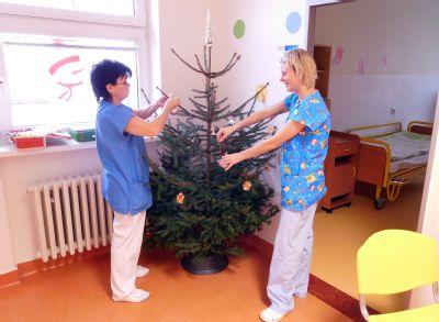 Vánoční duch zavítá i za pacienty Nemocnice Nový Jičín