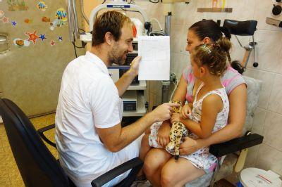 Na předškoláky jsou na ORL v Nemocnici Nový Jičín nachystáni, sluch jim prověří ještě před zahájením školních povinností