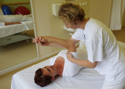 Pacientům s poruchou pohybu v Léčebném a rehabilitačním pracovišti Vítkov pomáhá speciální terapie