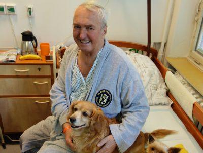 Canisterapie léčí pacienty Léčebného a rehabilitačního pracoviště Nemocnice Vítkov již sedmým rokem