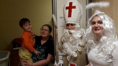 Mikuláš naděloval dětem hospitalizovaným v Nemocnici Nový Jičín