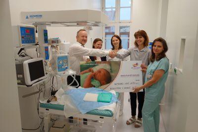 Nový resuscitátor vdechne život novorozencům v Nemocnici Nový Jičín