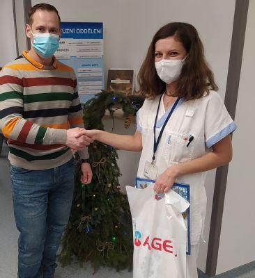 Transfuzní oddělení Nemocnice AGEL Nový Jičín je připraveno na vánoční svátky