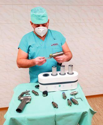Nemocnice AGEL Nový Jičín pořídila nový operační stůl a nástroje