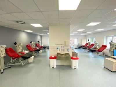 Novojičínská nemocnice nabízí dárcům plazmy odběry již před šestou ráno