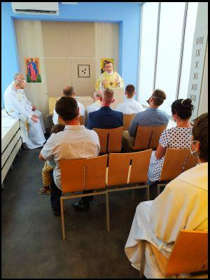 Věřící nabírají v novojičínské nemocnici duchovní sílu v nové kapli